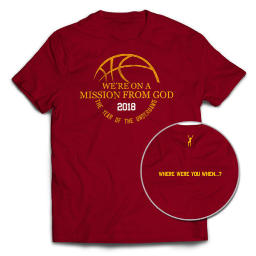 Loyola Basketball were on a mission from god