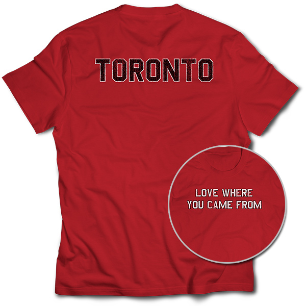 Love Where You Came From – Toronto