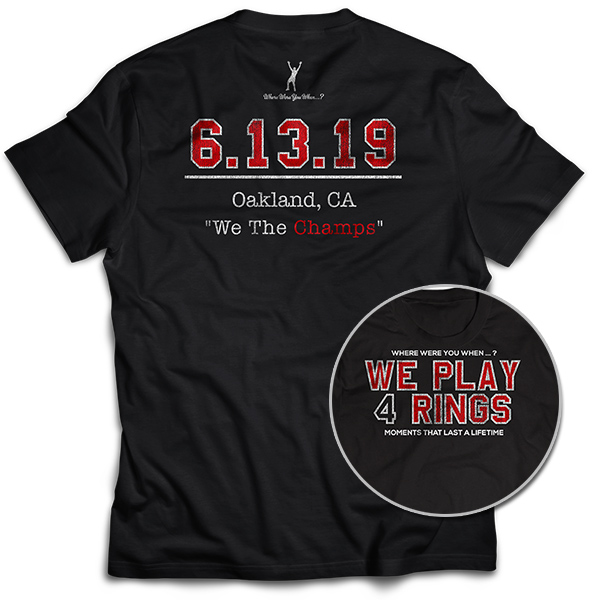 WE PLAY 4 RINGS 6.13.19 We The Champs
