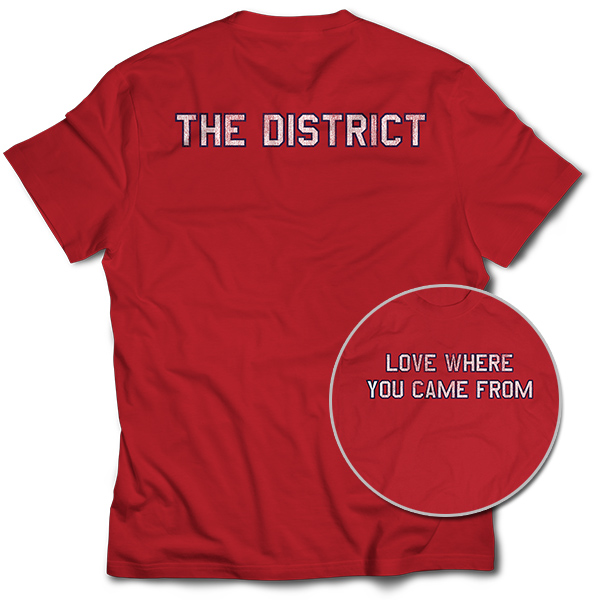 Love Where You Came From – The District